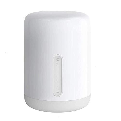 Xiaomi La lampada da comodino, una lampada intelligente a LED con controllo vocale e touch, può essere utilizzata con l'app Mi Home, Apple Homekit e Xiaomi Watch