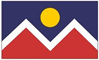 3'x5' FLAG of DENVER, Colorado Co, city banner