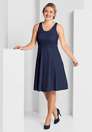 Sheego Cocktailkleid Abendkleid Partykleid Gr 44 L blau (764390) - Katalogpreis: 89,90€