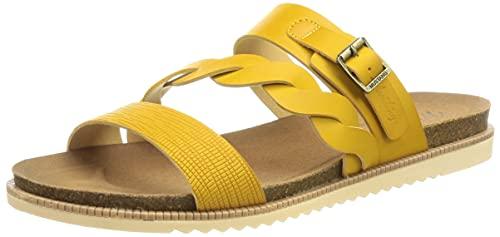 Mustang Damen 1392-701 Sandale, gelb, 40 EU