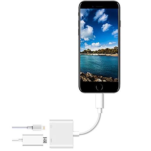 4K para iPhone a HDMI HD TV convertidor para Apple IOS iPad 1080P adaptador proyector