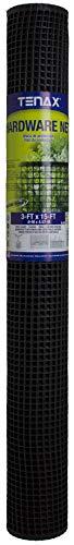 Tenax Hardware Net, 3 by 15-Feet, Black