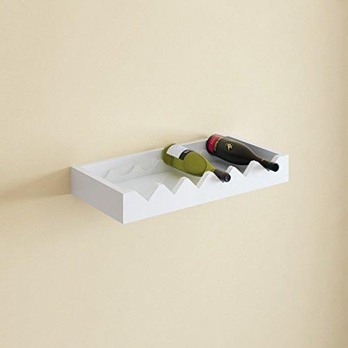 ForceSthrength Wooden Red Wine Rack 3/6/10 Bottle Holder Mount Kitchen Bar Display Shelf Accessori vino e bar