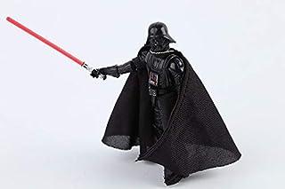Pi² Star Wars Black Warrior Darth Vader Lightsaber Action Figure (10 cm,Black)