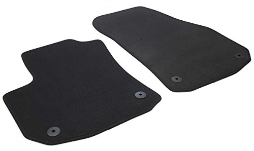 kh Teile Fußmatten Zafira B Velours Automatte (2-teilig, Vorne) Original Qualität, Schwarz