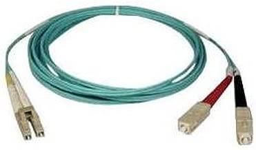 tripp lite n816-03m 3m 10gb duplex mmf patch cable lszh aqua fiber lc/sc 50/125