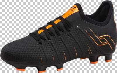 Pro Touch Fußball-Schuhe-Speedlite + Ii Fg Jr. - schwarz/Neonorange - Fussball-Nocken-Schuhe (FG)-Kinder, Größe:29