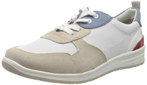 Jana Softline Damen 8-8-23663-24 Sneaker, Beige (Lt. Beige Comb 421), 41 EU