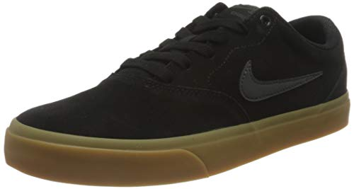 Nike SB Charge Suede, Gymnastics Shoe Unisex Adulto, Negro/Anthracite Gum Light Brown, 42 EU