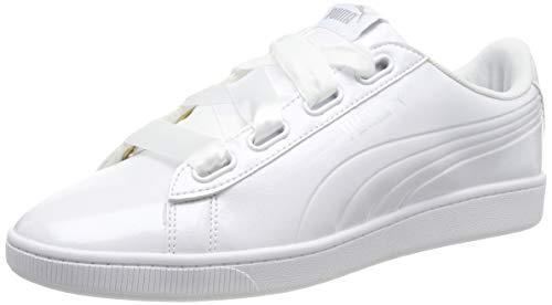 Puma VIKKY V2 RIBBON P, Sneaker, Violett (Puma White-Puma Silver 2), 40 EU (6.5 UK)