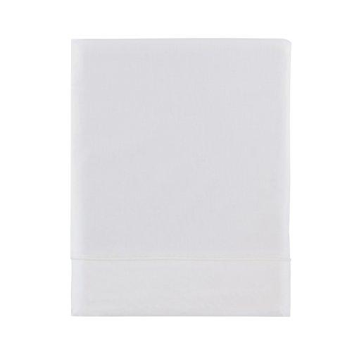 Essix Home Collection Copripiumino Matrimoniale in cotone, bianco, 260 x 240 cm