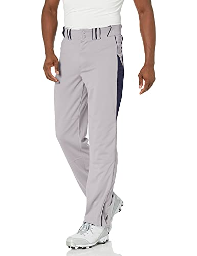 Champro Damen Erwachsene Triple Crown Baseball Hose, Damen Unisex-Erwachsene, BP92UAGRNY4XL, Grau, Marineblau, 4X-Large