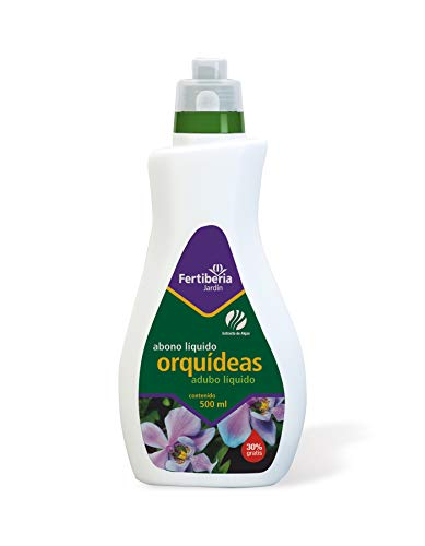 Fertiberia Fertilizantes Orquideas 350 ml+150 ml Gratis Abonos líquidos, Color parduzco