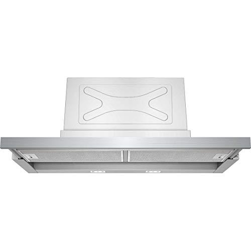 Hotte tiroir Siemens LI97SA530 - Hotte aspirante Intégrable - largeur 90 cm - Débit d'air maximum (en m3/h) : 740 - Niveau sonore Décibel mini. / maxi. (en dBA) : 55 / 68