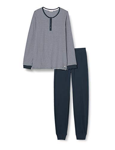ESPRIT Bodywear Mädchen Jordyn YG Pyjama Pyjamaset, 401/NAVY 2, 128/134