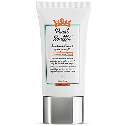 Shaveworks Pearl Soufflé Shaving Cream for Women – Soothing,...