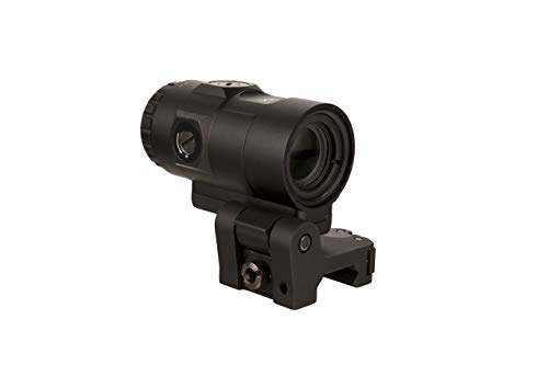 Trijicon MAG-C-2600001 3X Magnifier w/Adjustable Height Quick Release, Flip to Side Mount