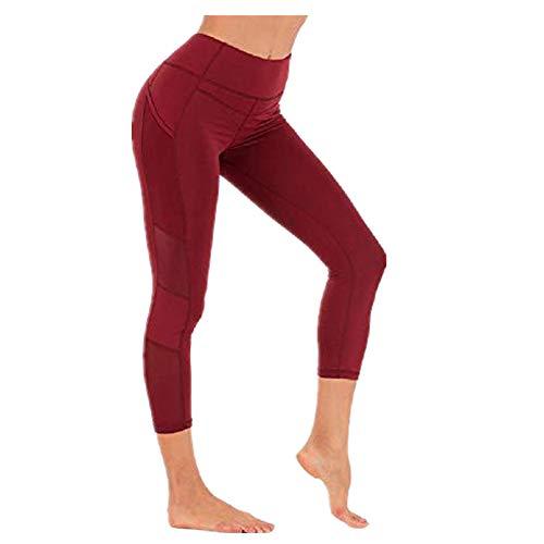 U/A Nude Yoga Pantalones De Las Mujeres Sin Costura De La Cadera De La Levantamiento De Secado Rápido Corriendo Ocho Punto De Cintura Alta Pantalones