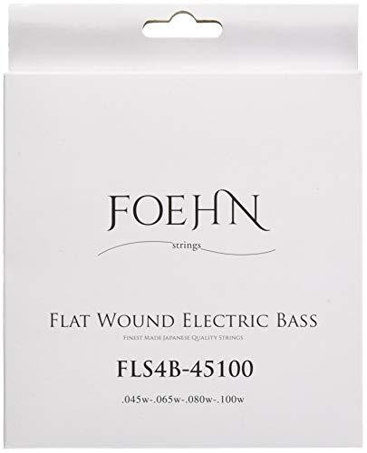 FOEHNFLS4B-45100FlatWoundElectricBassStringsRegularLight45-100フラットワウンドエレキベース弦