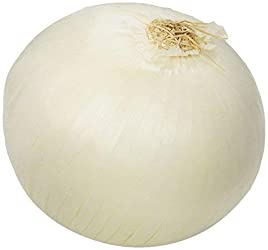 Onion White Conventional, 1 Each