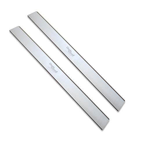 DIAMWOOD EXPERT EN EQUIPEMENT - Jeu de 2 fers de dégauchisseuse raboteuse 410 x 25 x 3 mm acier HSS (les 2 fers)