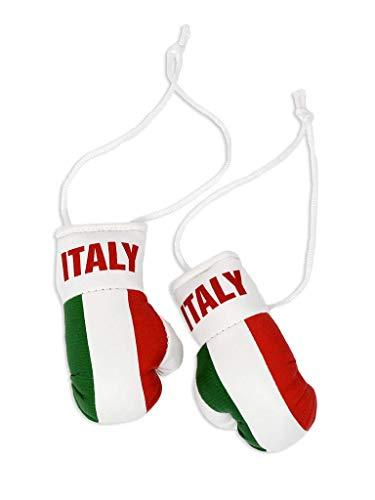 Mini-Boxhandschuhe Italien – perfekt zum Aufhängen im Autospiegel
