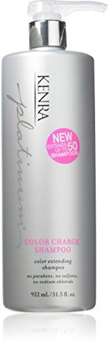 Kenra Platinum Color Charge Shampoo, 31.5 Ounce