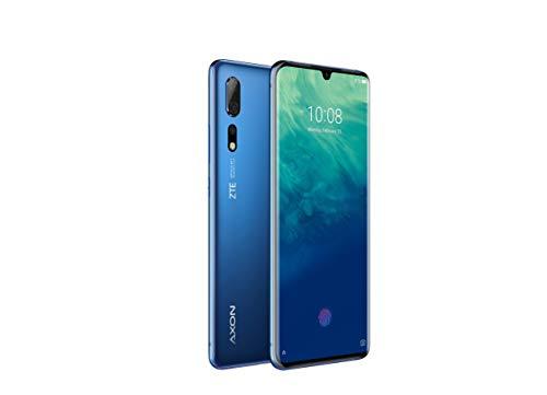 ZTE Smartphone Axon 10 Pro (16.43 cm (6.47 Zoll) AMOLED Display, 128GB interner Speicher und 6GB RAM, 48MP Hauptkamera, 20MP Frontkamera, Dual-SIM, NFC, Android 9) Blau