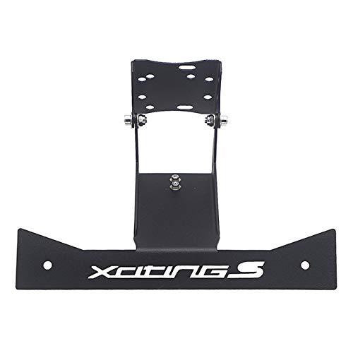 Xuefeng Accesorios para Motocicletas Soporte de Soporte de Soporte de Soporte de navegación GPS para kymco xcing s 400 (Color : B)