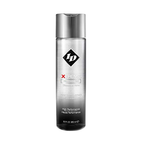 ID Lubricants Xtreme Personal Lubricant High Performance Friction Reduction Lube, Clear, 8.5 Fl Oz (Pack of 1)