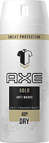 AXE Anti-Transpirant Deospray gegen Geruch und Achselnässe Gold 48-Stunden-Schutz, 1er Pack (1 x 150 ml)