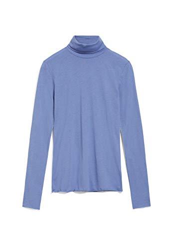 ARMEDANGELS MALENAA - Damen Longsleeve aus Bio-Baumwolle M Dove Blue Shirts...