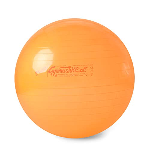 Original Pezzi Gymnastikball FLUO 65cm Sitzball Sport Therapie Reha fluo orange