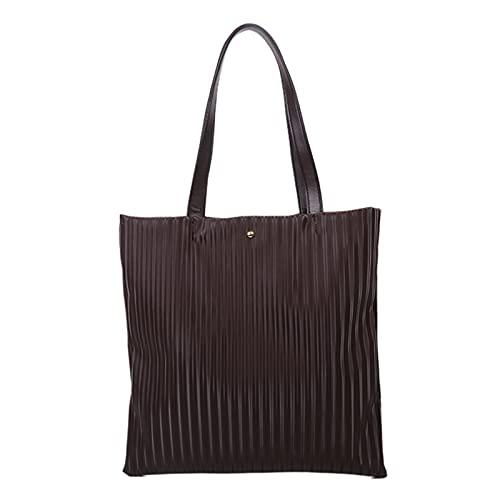 Qagazine Bolso de mano de las mujeres de la moda durable grande de la lona bolso de hombro casual para la playa compras viajes