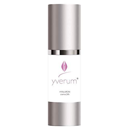 Yverum® - HYALURON Creme 24 h - Im Spender - 30 ml