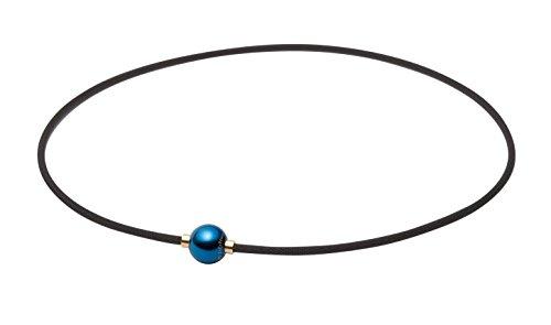 phiten [Yuzuru Hanyu Spieler Lieblingsartikel] Halskette RAKUWA Hals X100 Spiegelkugel Erde Farbe 45cm