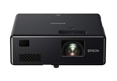 Epson EF-11 tragbarer 3LCD-Laserprojektor (Full HD 1920x1080p, 1.000 Lumen Weiß- und Farbhelligkeit, Kontrastverhältnis 2.500.000:1, nur 1,2 kg Gewicht, Miracast, HDMI)