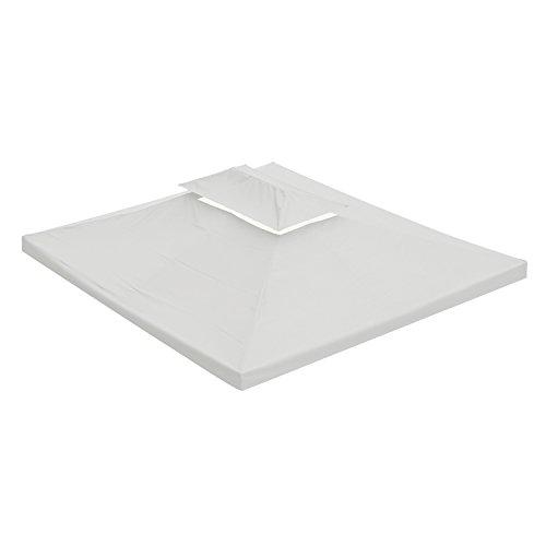 Scopri offerta per Outsunny Tetto sostitutivo per Gazebo Tenda da Giardino 3x4m (Crema)