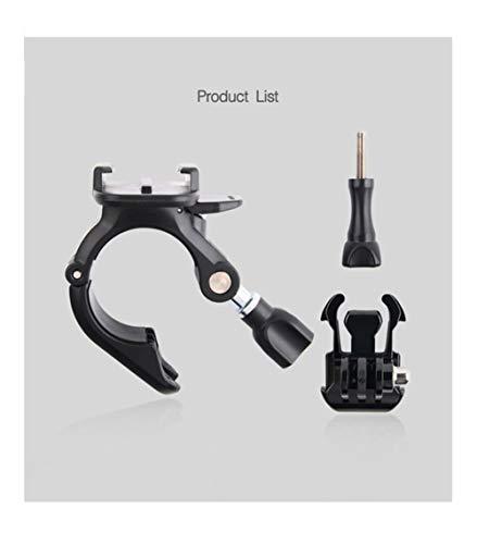 DAXINIU 360 Giratorio de Amarre Manillar de la Bici Polo Tubo de Montaje for GoPro héroe 7 6 5 4 Sesión for Xiaomi Yi 4K for Sjcam for EKEN Acción Accesorios Cámara Accesorios de la cámara