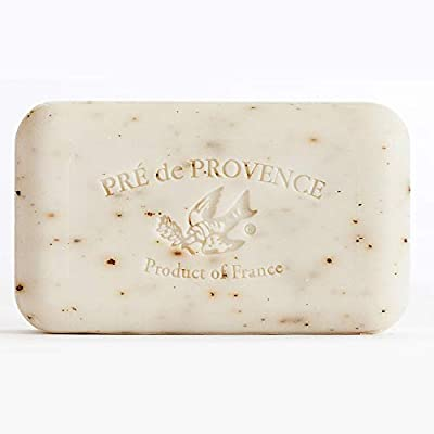 Pre de Provence Artisanal French Soap Bar Enriched with Shea Butter, White Gardenia, 150 Gram