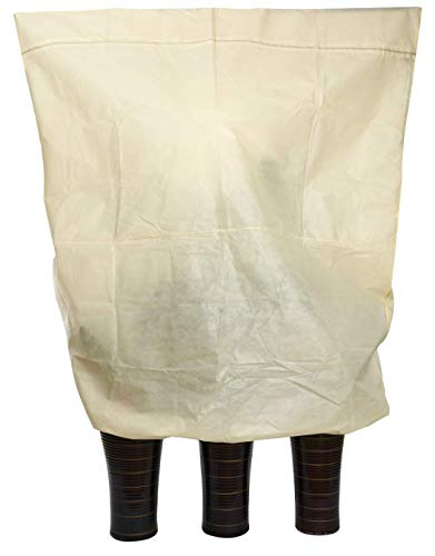 Protezione invernale per piante Jumbo 240 x 200 cm, con borsa, antistrappo, lavabile, traspirante