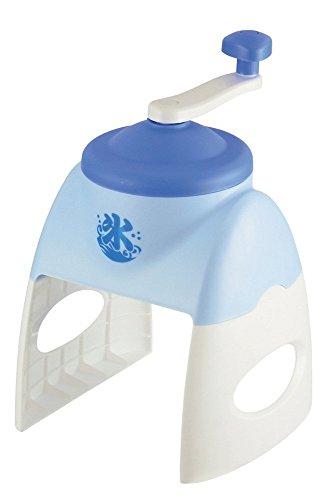 JapanBargain Apanese Rasierapparat mit Handkurbel, für Eisrasierer, Schneekegel, Handkurbel, hergestellt in Japan, Blau
