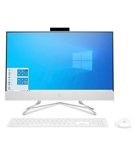 Ordenador All IN One HP 24-DF0069NS I3-1005G1 238FHD 8GB 512SSD WiFi Bluetooth W10 Color Blanco/Plata Inc Teclado Y Mouse