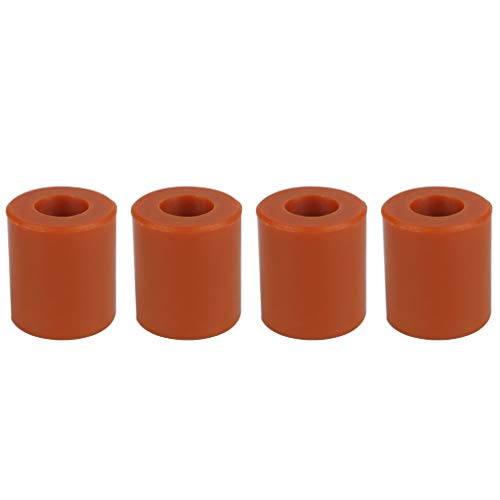 Ludzzi 4PCS/SET Non-stick Silicone Hot Bed Leveling Column High Temperature Solid Spacer Platform Leveler for Ender 3 3D Printer Accessories
