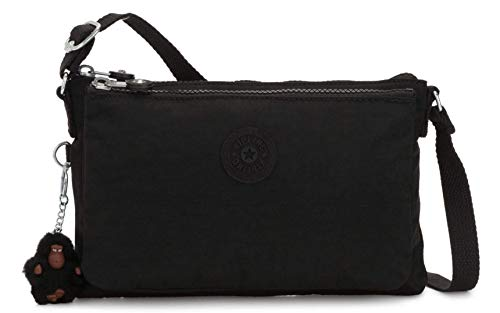 Kipling Mikaela Crossbody Bag (Black Tonal)