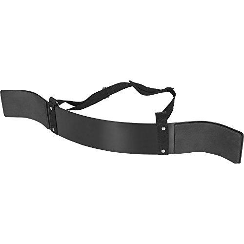 GORILLA SPORTS® Bizeps-Blaster Schwarz – Arm-Isolator für Bizeps- und Trizeps Stahl verstellbar