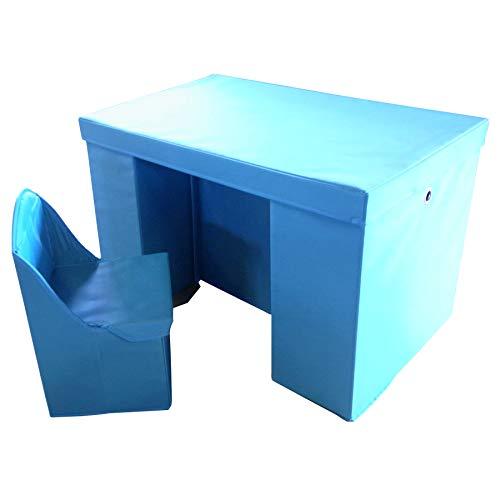 SunRuck サンルック 子供用 折りたたみデスク&チェアセット 子ども こども 机 つくえ テーブル かわいい 3歳から デスクセット いす 椅子セット 学習机 勉強机 段ボール家具 ダンボール家具 デスク 椅子 イス チェア 幼児用 折り畳み 学習机