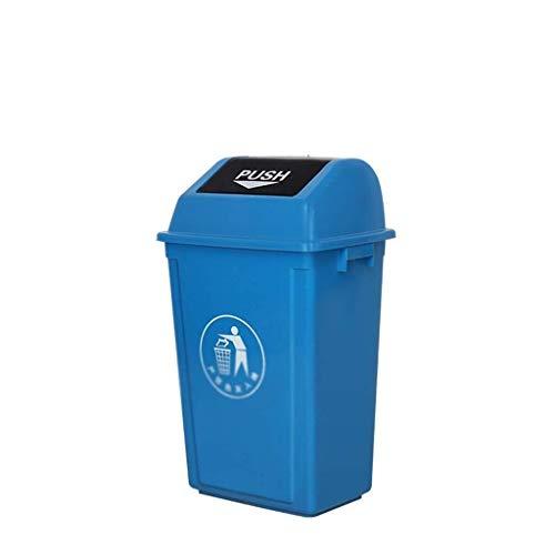 Cubo de basura, basurero de basura con tapa, botes de basura de...