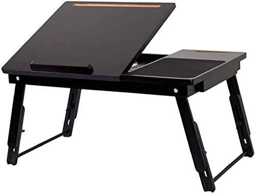 HLY Mesa perezosa, mesa pequeña, mesa plegable para computadora, cama, escritorio pequeño, puede elevar el artículo escalable,B