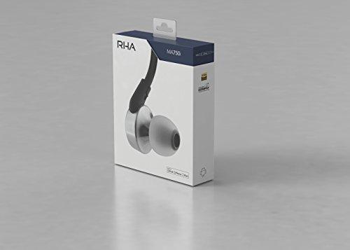 RHA 201044 MA750i, Intra-auriculares con aislamiento de ruido, mando de control y micrófono